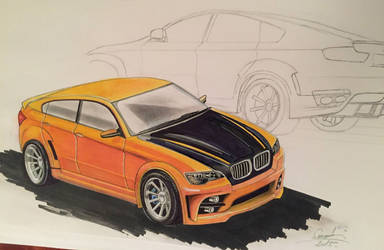 BMW X6 by brianspilner