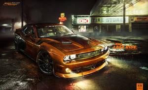 DODGE Challenger 4K Wallpaper by brianspilner