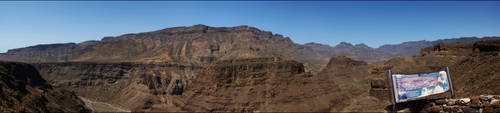 Mirador El Guriete (Panorama) by skywalkerdesign