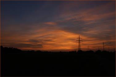 Werl Sunset 3 by skywalkerdesign