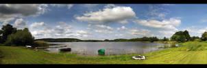 Dzwierszno Male Lake by skywalkerdesign