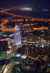 Dubai At Night (Burj Khalifa)
