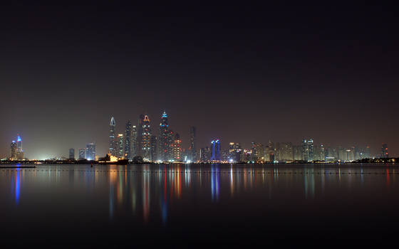 Dubai At Night (Oceana Beach)