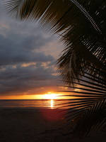 Sunset Jamaica Beach No. 2