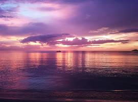 Sunset Jamaica Beach No. 3 by skywalkerdesign