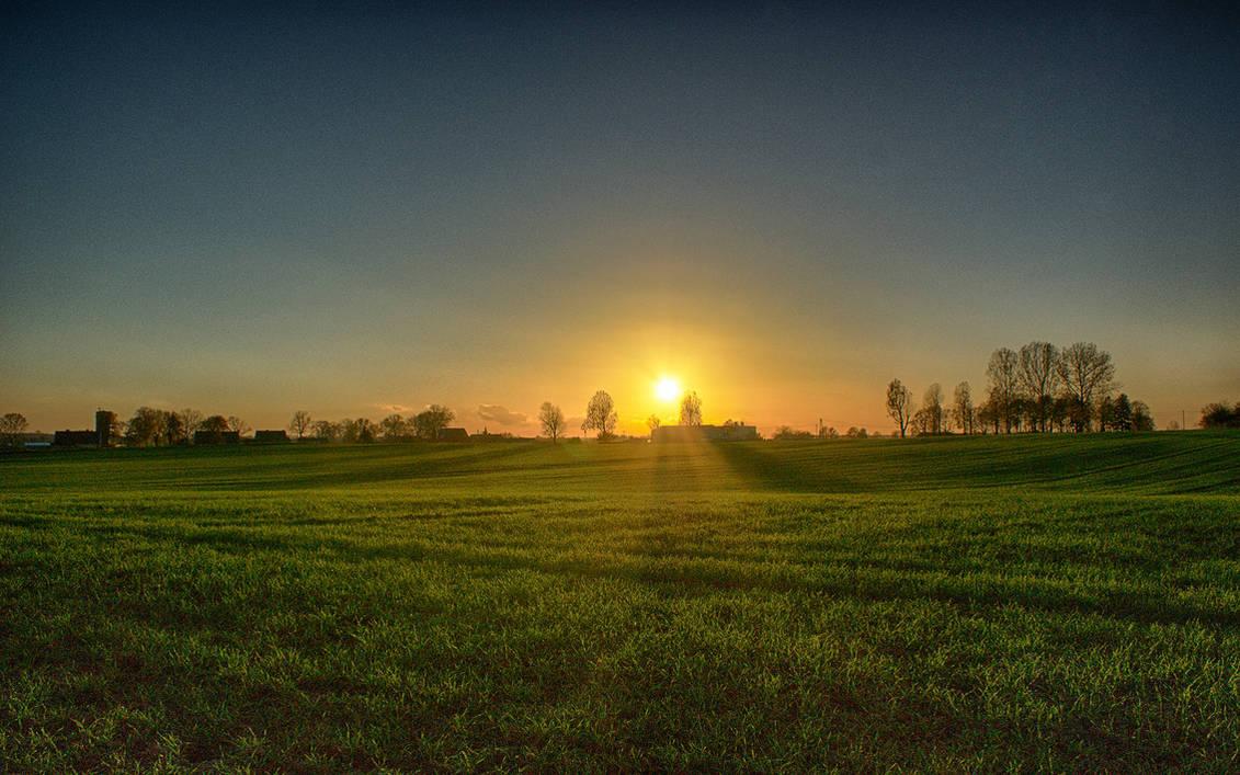Dzwierszno Male Sunset (HDR) No. 2
