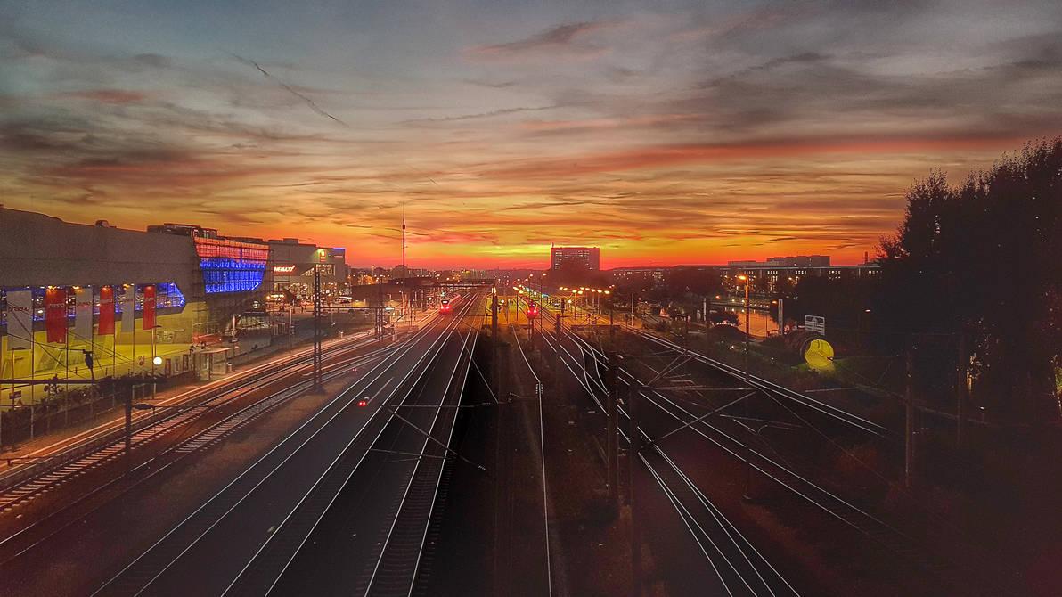 Sunset Wolfsburg (HDR)