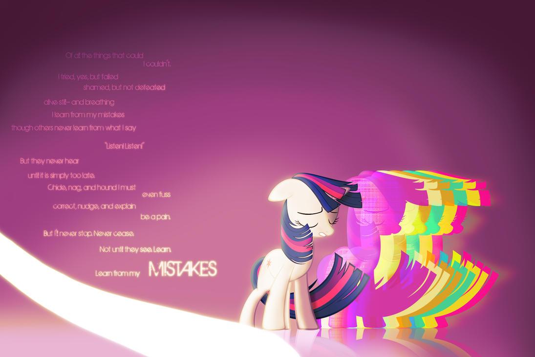 Twilight MISTAKES by StreamlinedPegasus