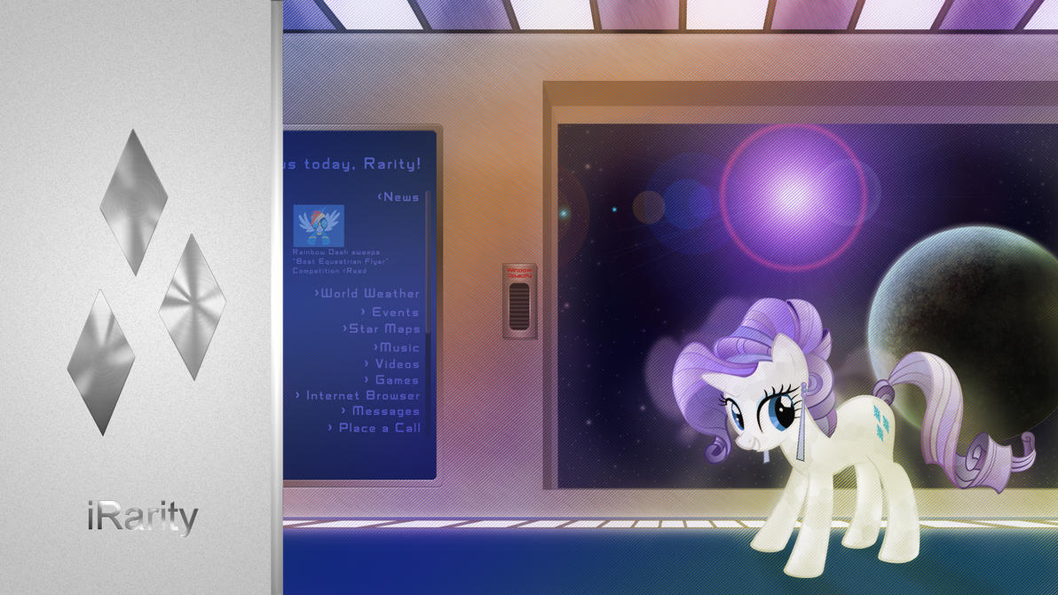 Crystal iRarity by StreamlinedPegasus