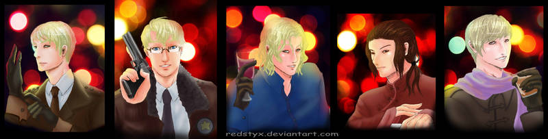 APH Allied Forces-Portraits by RedStyx