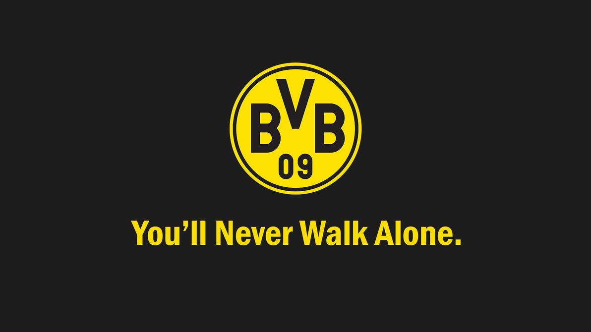 borussia dortmund bvb you 39 ll never walk alone by dirtyc0re on deviantart. Black Bedroom Furniture Sets. Home Design Ideas