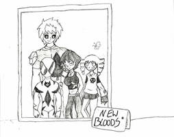 New Bloods Family by IronClark