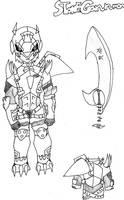 Digivolve: StoneGarurumon by IronClark
