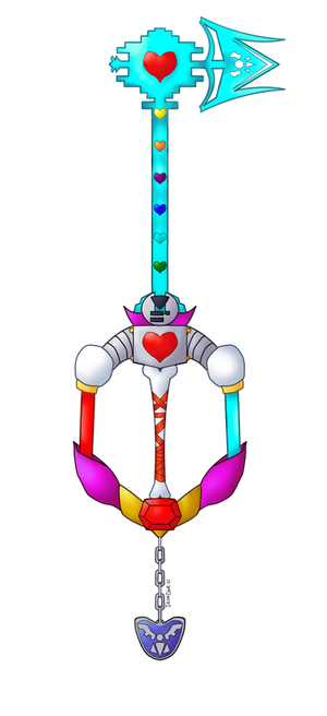 Keyblade: Determination of the Heart
