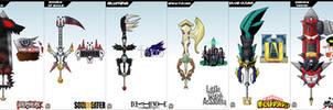 Keyblade Cards - Anime Set One