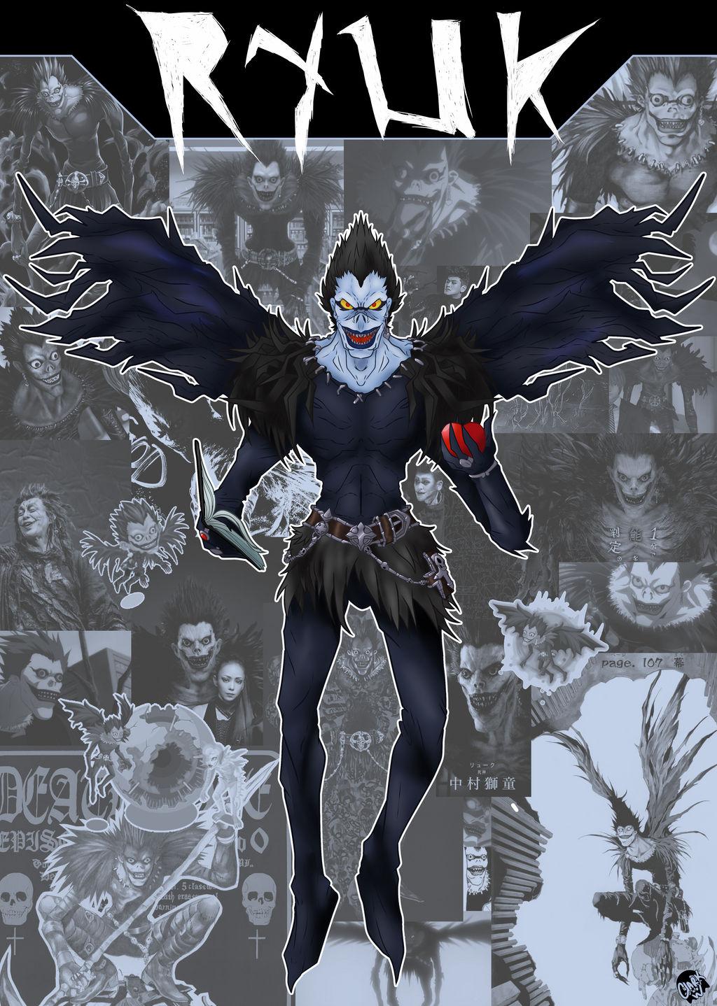 Character Card: Ryuk by IronClark on DeviantArt