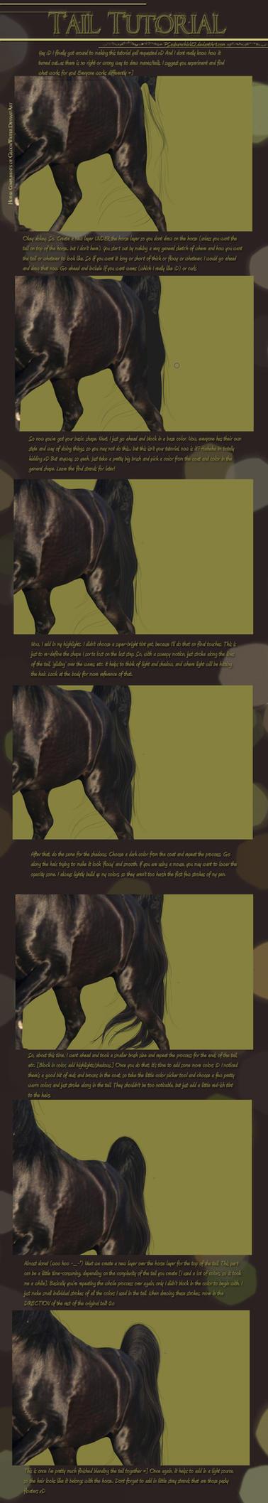 Tail Tutorial by PSauburnchick12