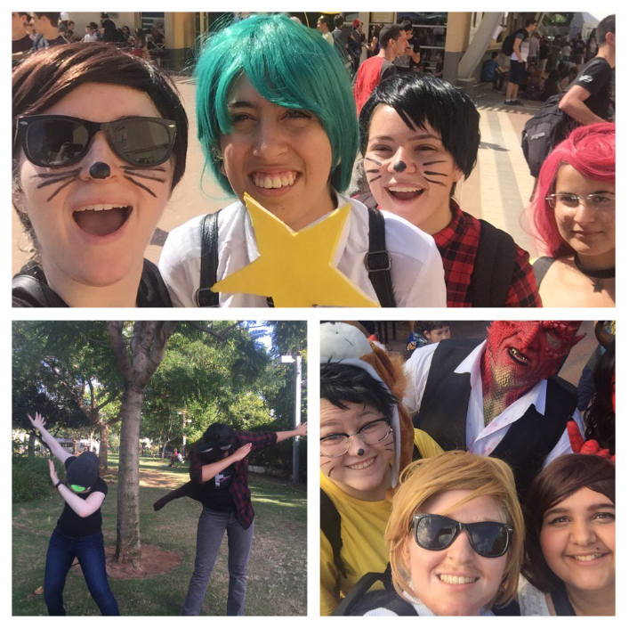 2015-2017 YouTuber Cosplay Collage - Group Shots! by kamea36912