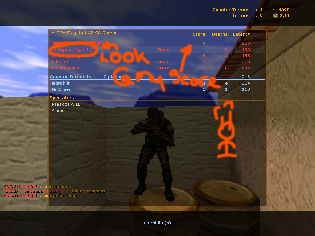 Counter-Strike Score by doocell
