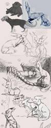 Sketchdump 21 by Hienkaaaaaaa