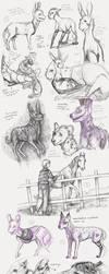 Sketchdump 22 by Hienkaaaaaaa