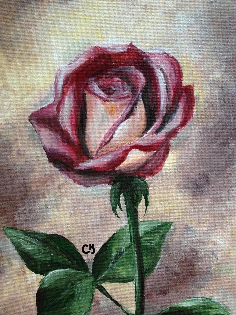 A Rose by moondesiree