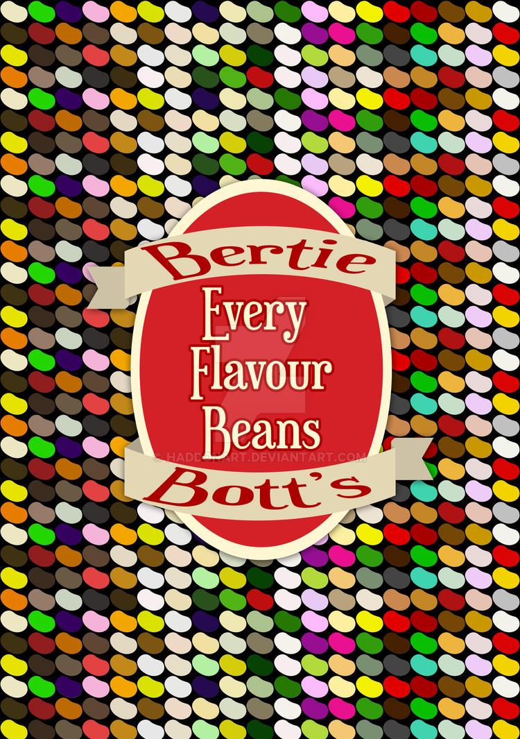 Bertie Botts Every Flavour Beans By Haddonart On Deviantart