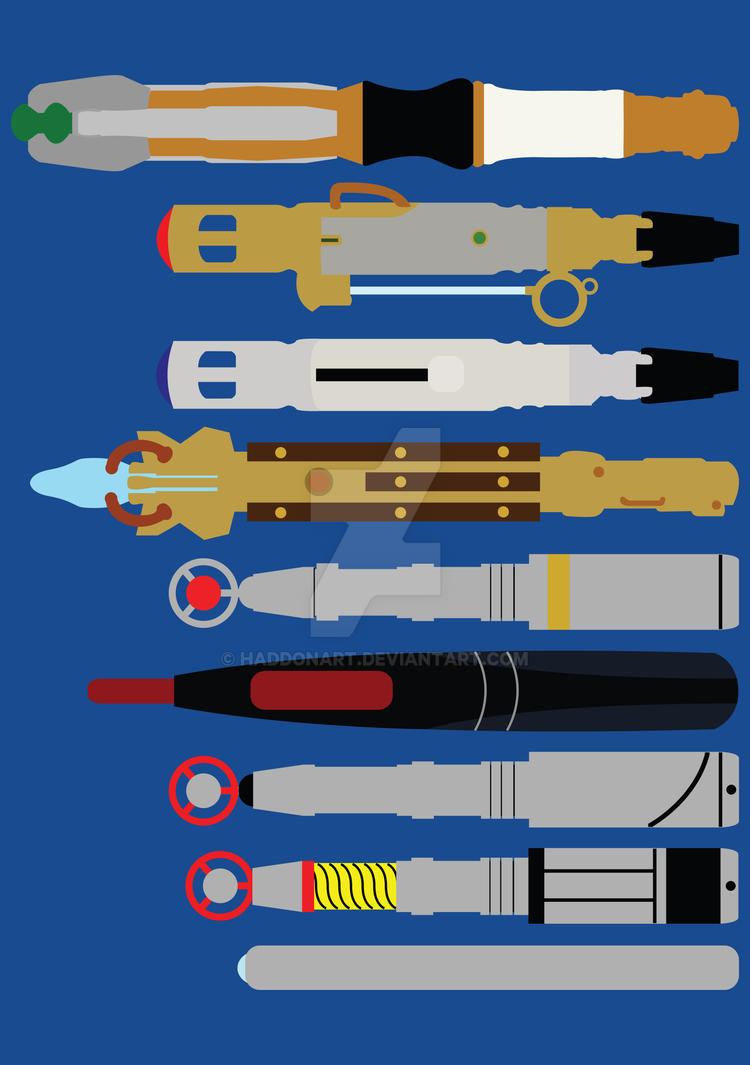 Tools of the Trade - Doctor Who by HaddonArt
