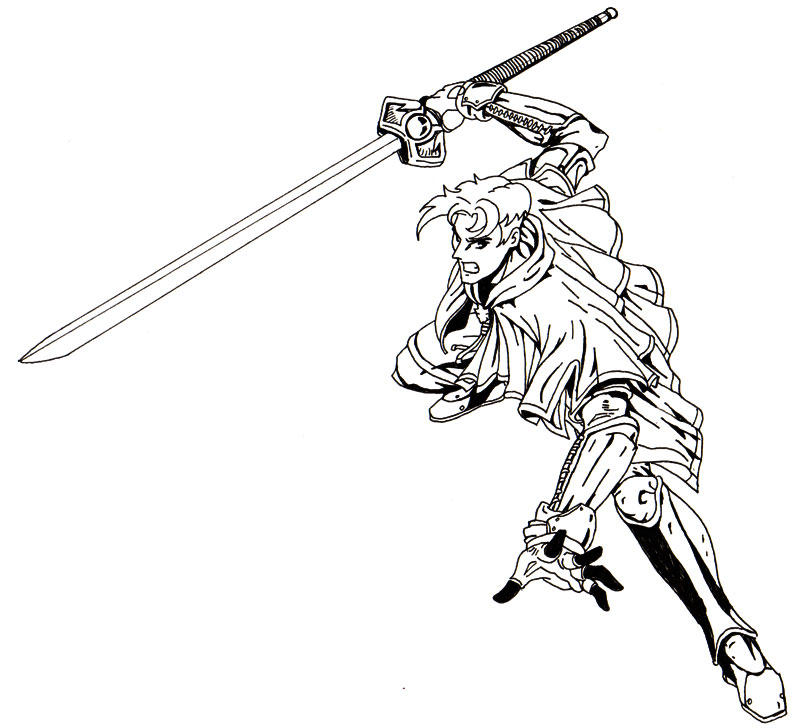 unfinished swordsman by bluesubs