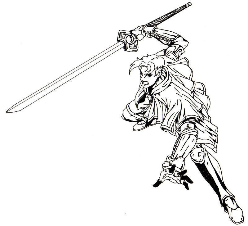 unfinished swordsman by bluesubs