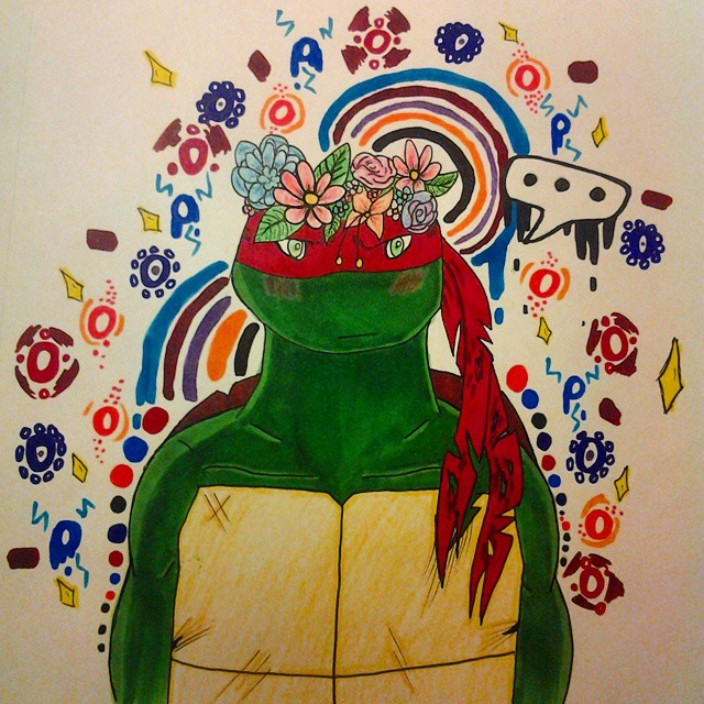 Flower Crown Raph by Frostyzzz
