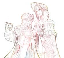 Selfie time by YamadaNiiriia