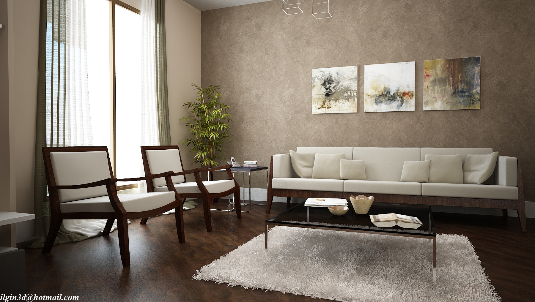 Living room by akcalar on deviantart for Modern drawing room ideas