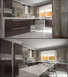 Kitchen by akcalar