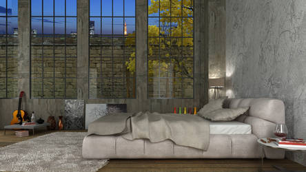 Bedroom by akcalar