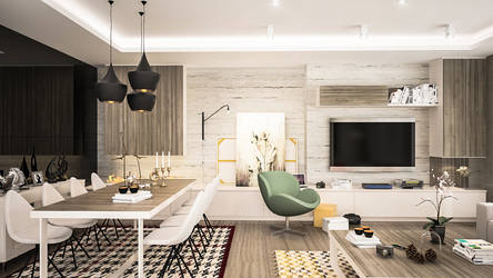 C7 Livingroom-1 by akcalar