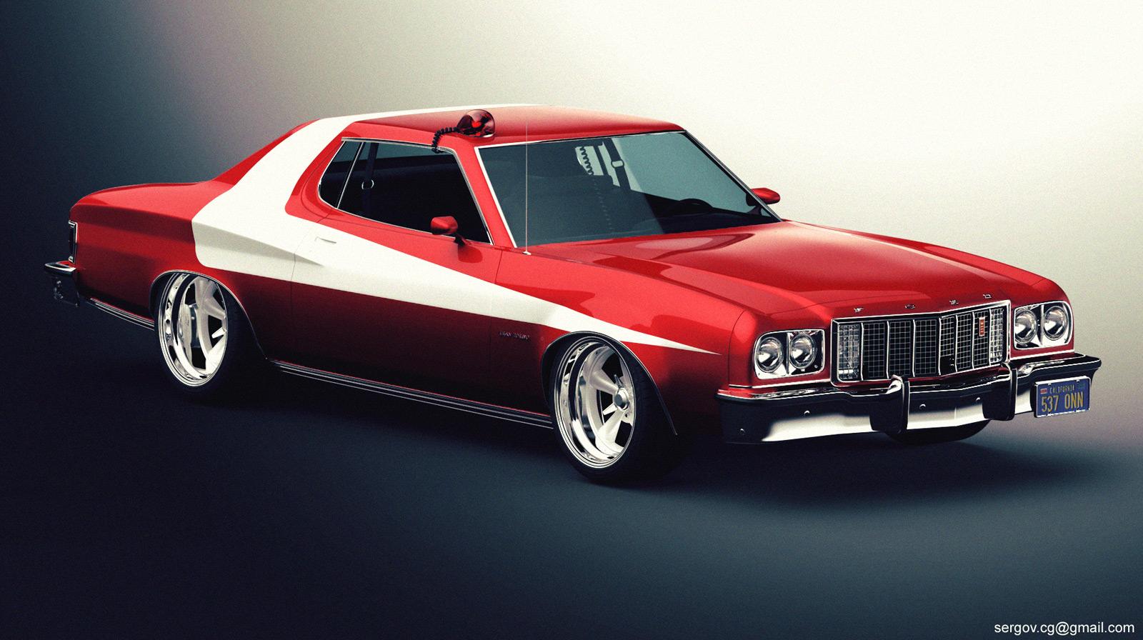 sergoc58 65 11 ford gran torino studio by sergoc58 - Ford Gran Torino
