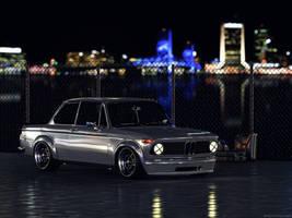 BMW 2002 Turbo CGI Night by sergoc58