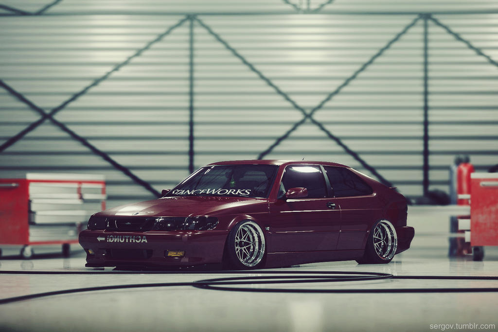 Saab 9-3  CGI tuned by sergoc58