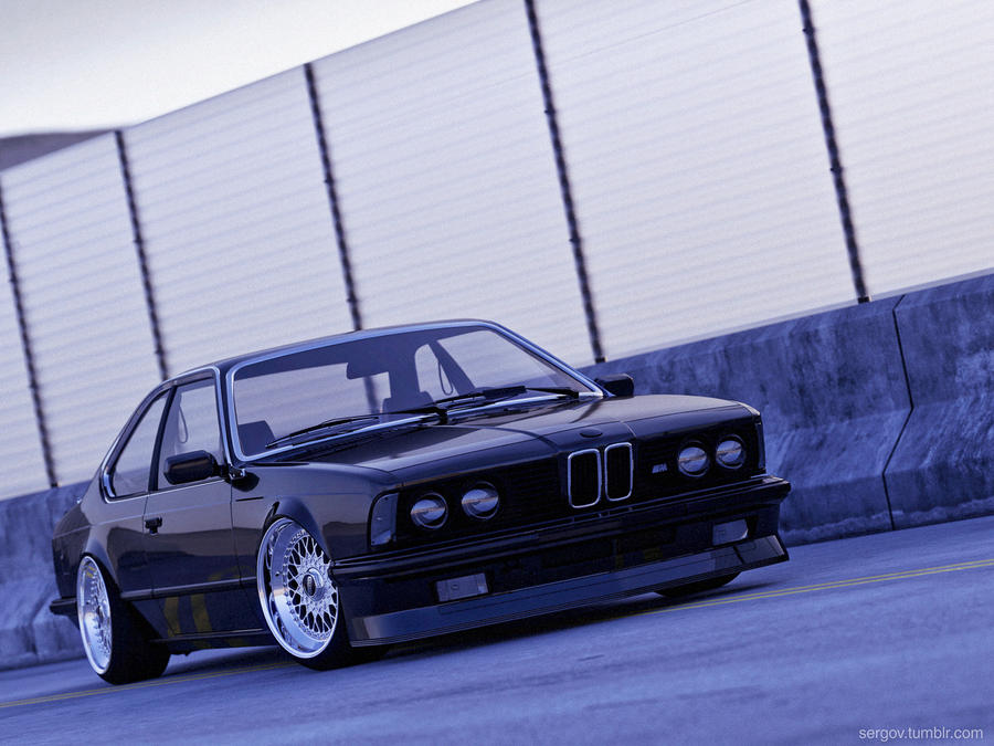 BMW E24 CGI by sergoc58