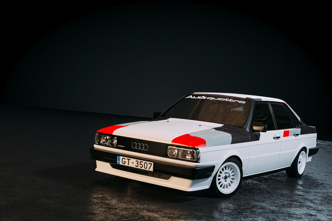 audi 80 b2 typ85 quattro rally spec by sergoc58 on deviantart. Black Bedroom Furniture Sets. Home Design Ideas