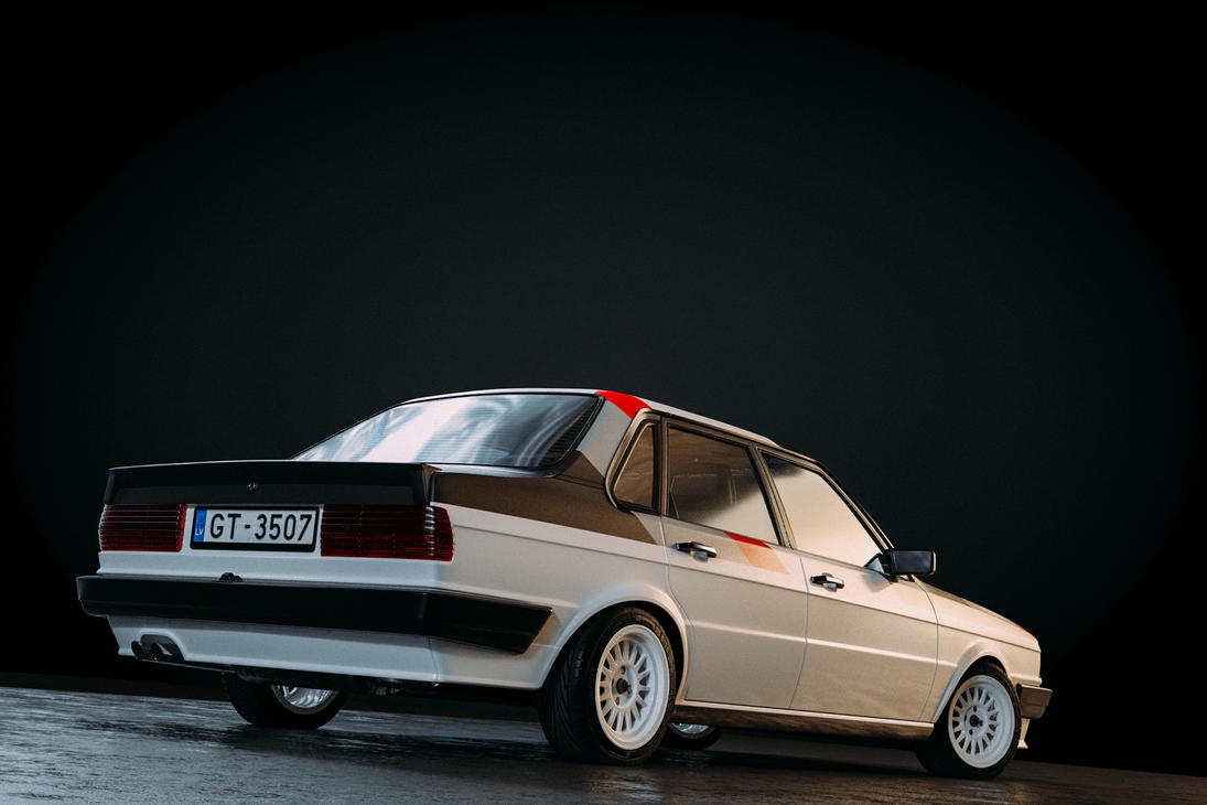 Audi 80 b2 typ85 quattro rally spec by sergoc58