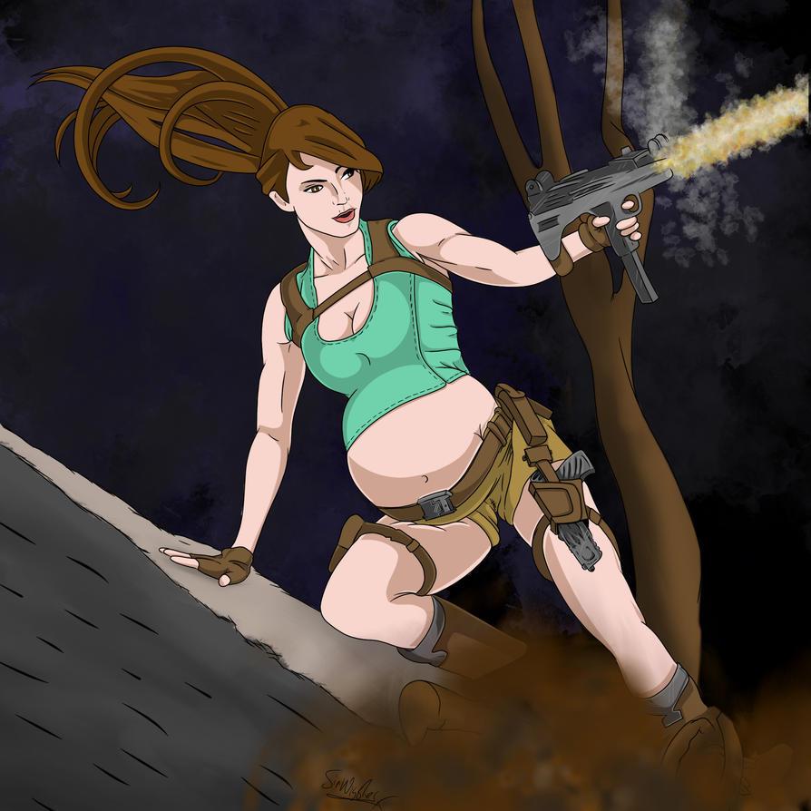 Lara croft getting pregnant by creature sex videos