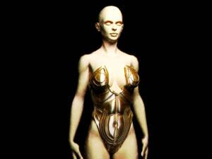 Maiden of Light armor