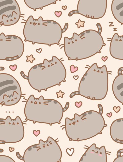 Beautiful Pusheen The Cat Wallpaper * * By Skylera ...