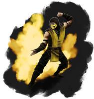 Scorpion from Mortal Kombat X by Prulap