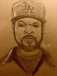 Ice Cube  by Carllovesart68