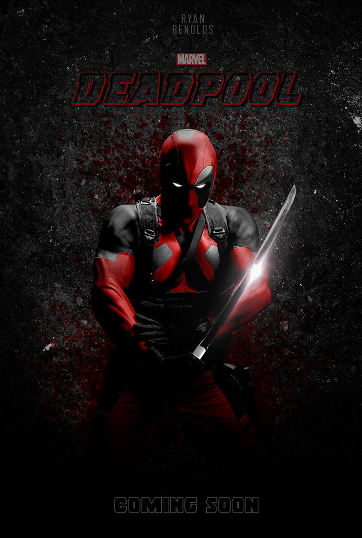 Deadpool Movie Poster by iamnerofx on DeviantArt