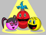 Pac-Man And Friends