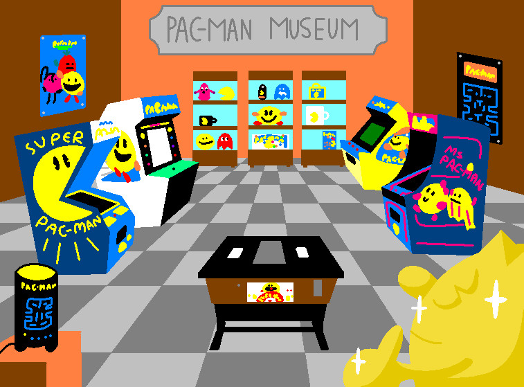 Pacman Deviantart 2019: Pac-Man Museum By AshumBesher On DeviantArt